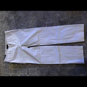 Ann Taylor White Dress Pants